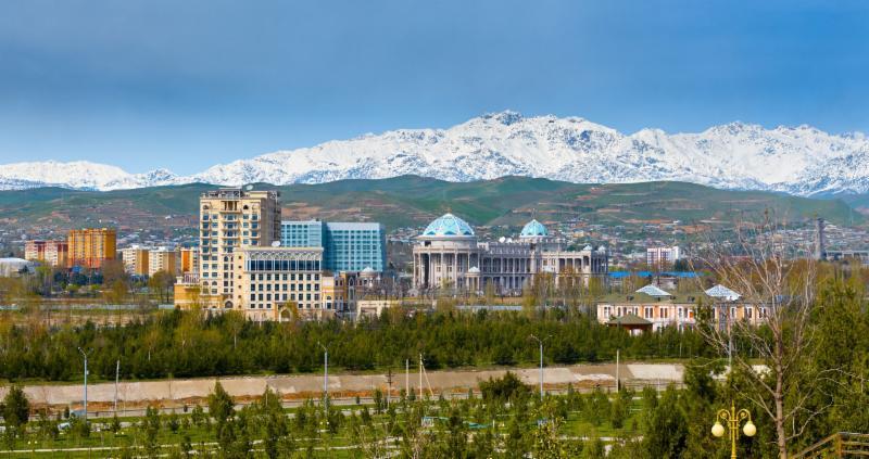 Tajikistan Landscape